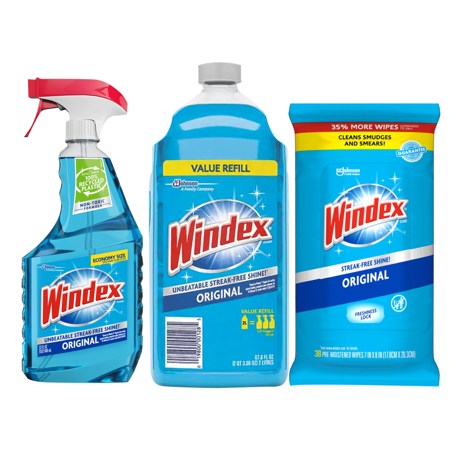 Windex Original Gl Cleaners With