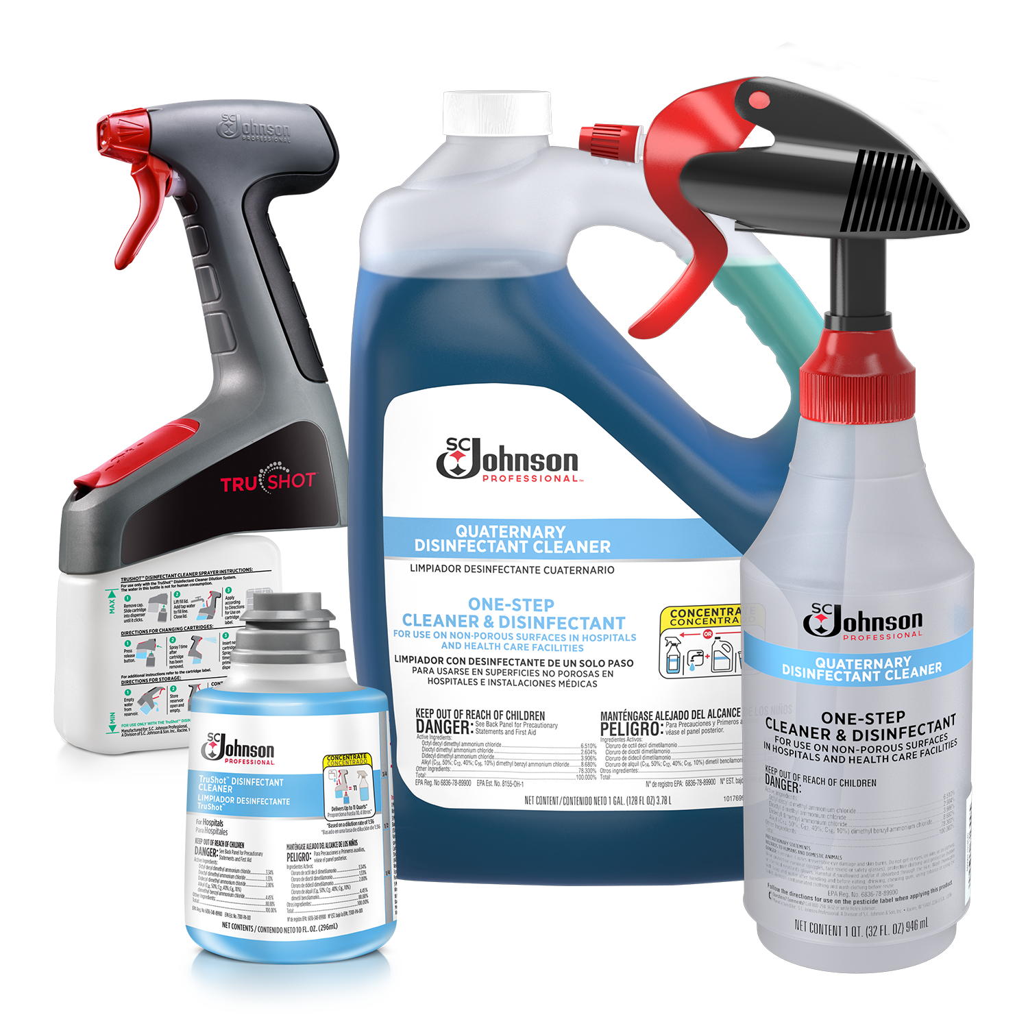 Quaternary Disinfectant Cleaners | SC Johnson Professional®