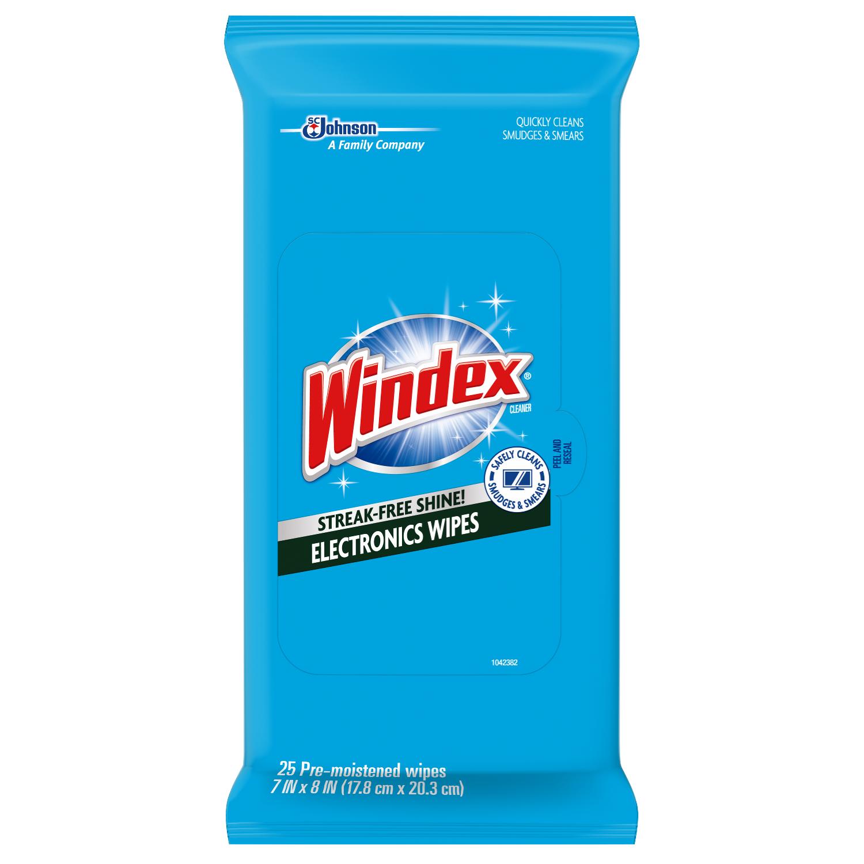 Windex® Electronics Wipes | SC Johnson Professional™