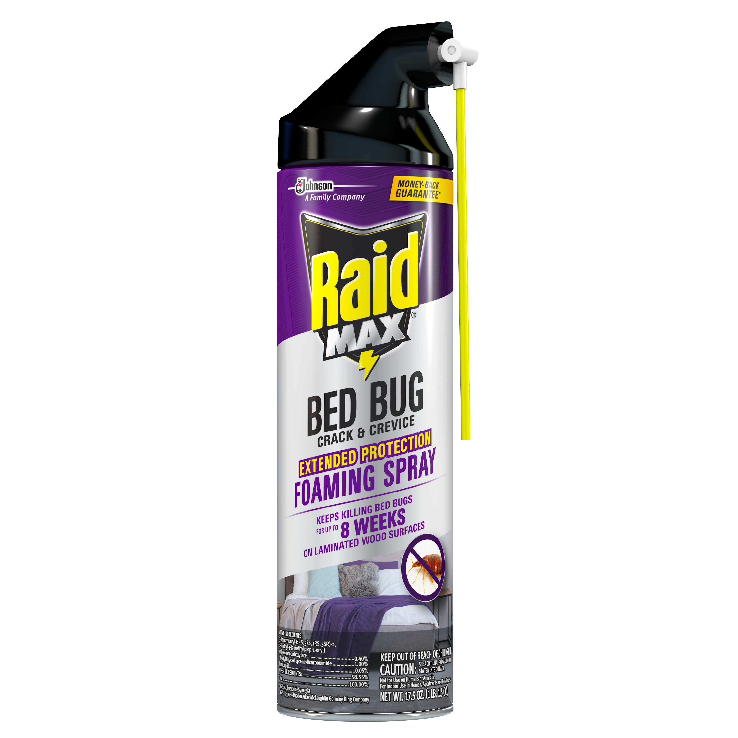RAID MAX® BED BUG & FLEA KILLER 1