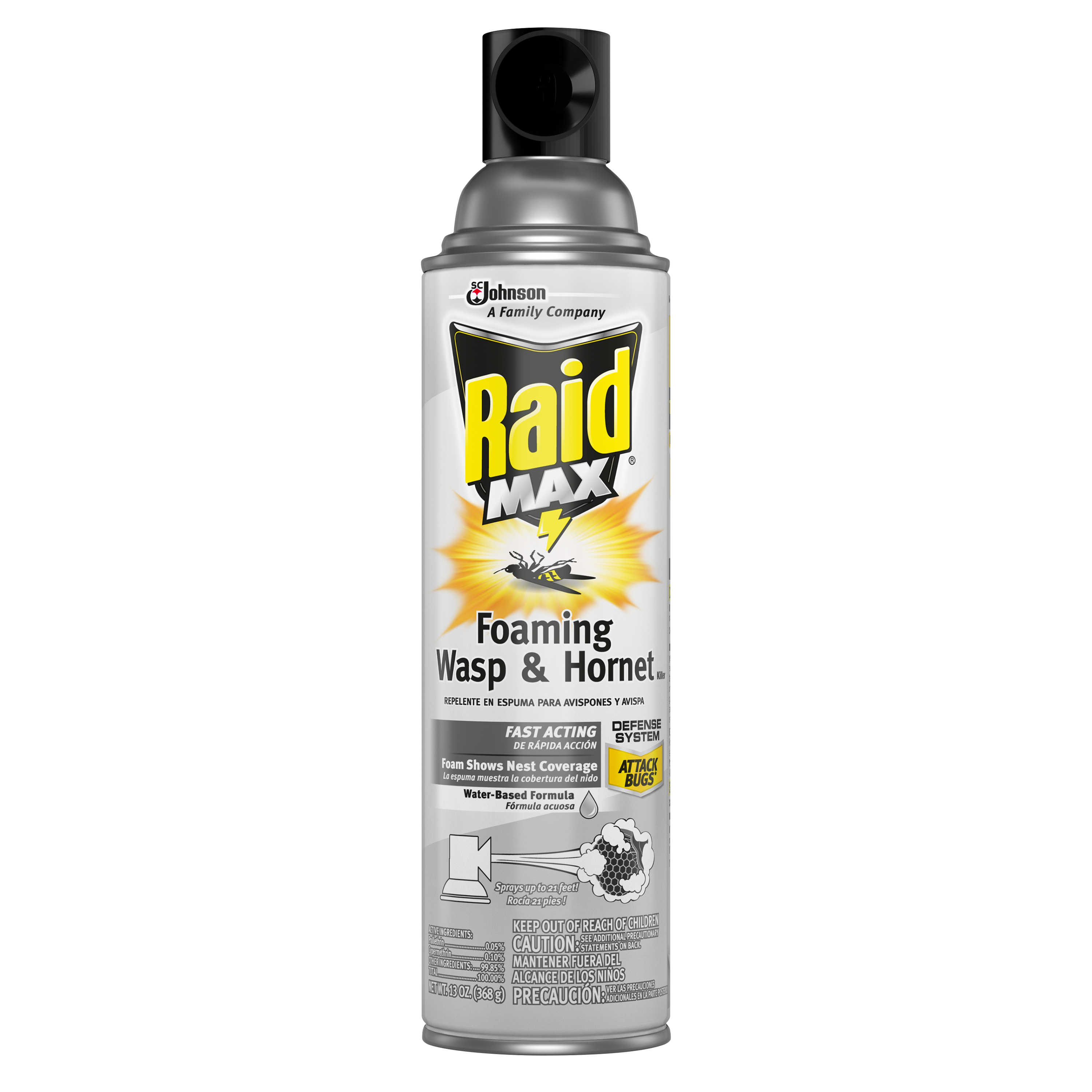 Raid MAX® Foaming Wasp & Hornet Killer