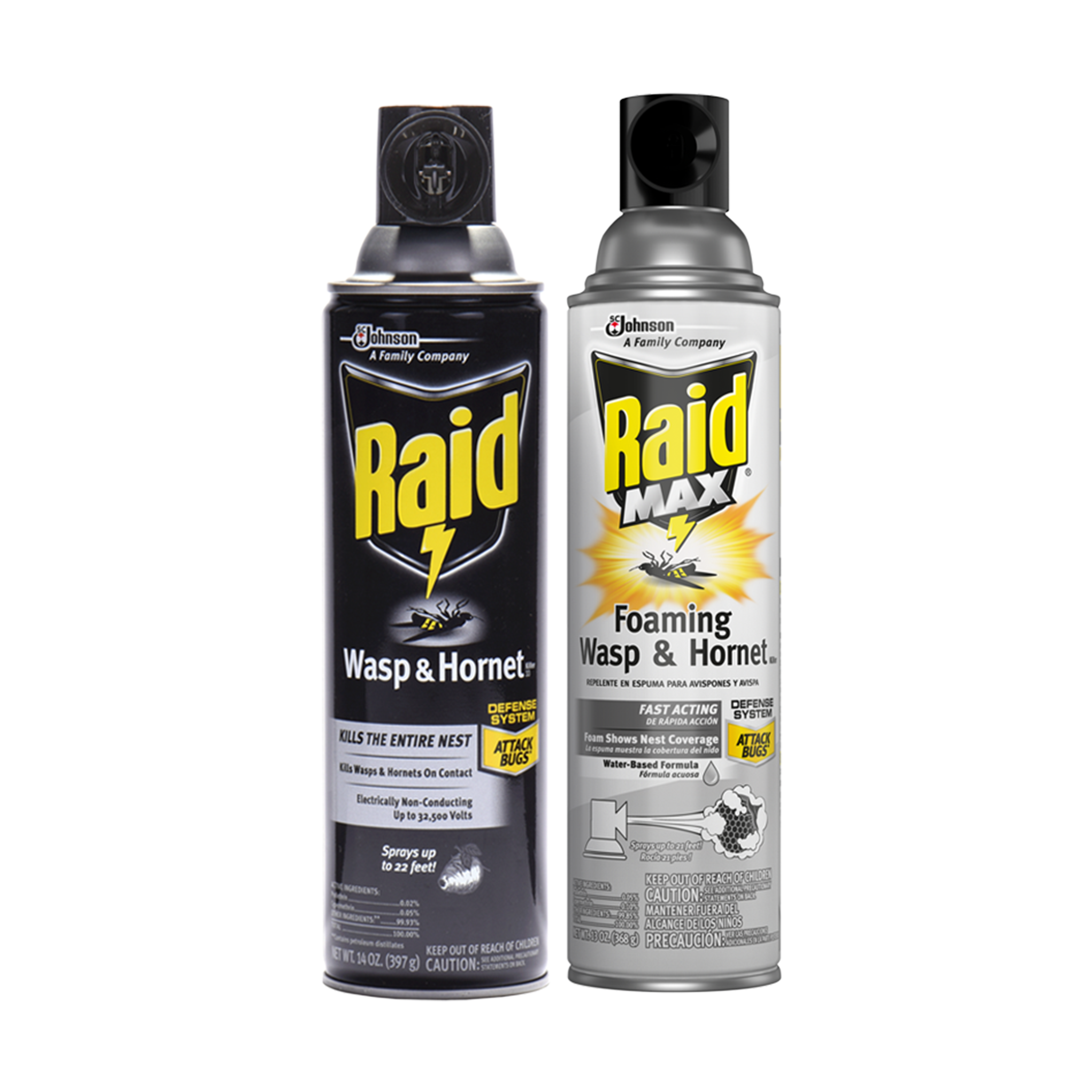 RAID® WASP & HORNET SOLUTIONS