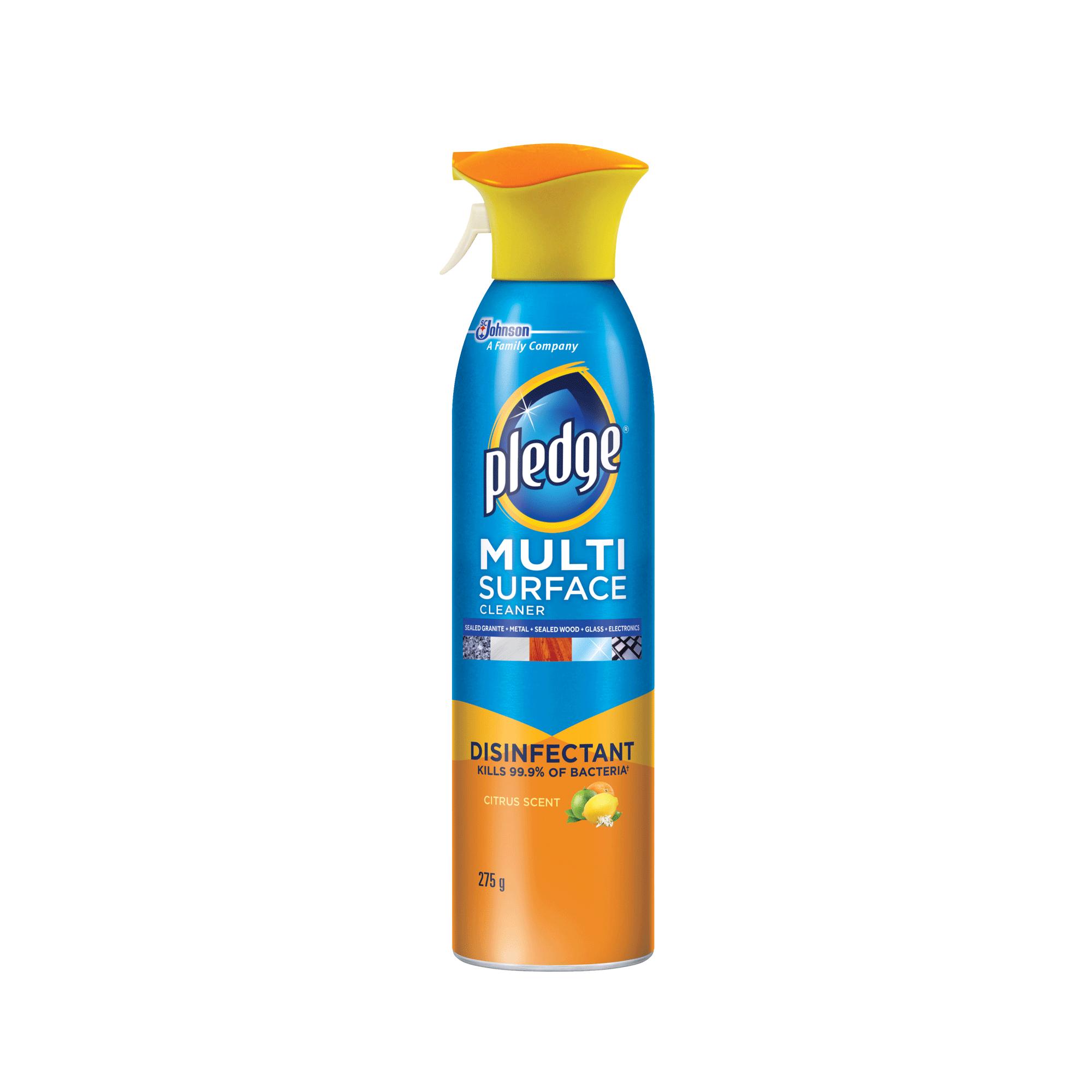 Pledge 174 Multi Surface Cleaner Disinfectant Sc Johnson