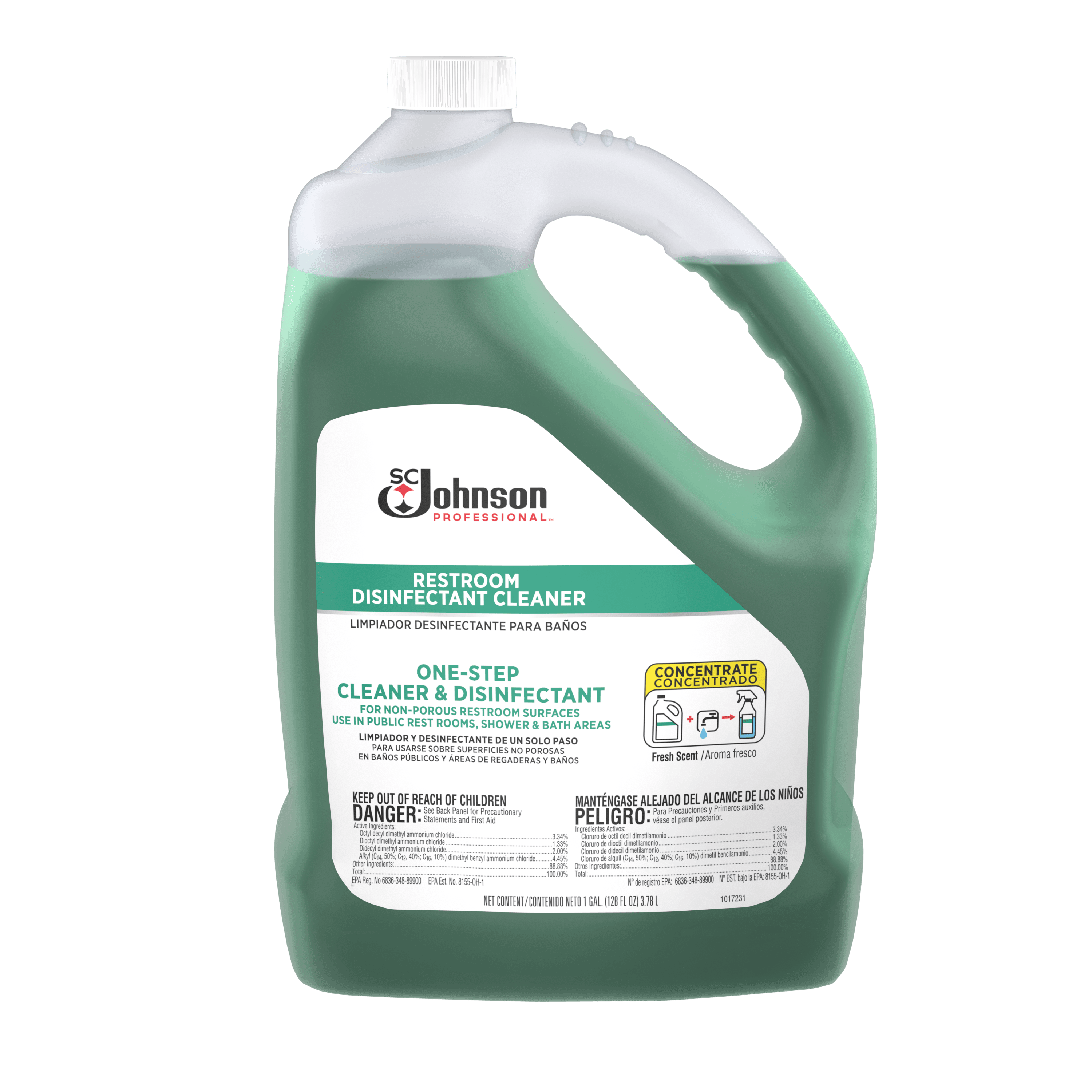 SC JOHNSON PROFESSIONAL RESTROOM DISINFECTANT CLEANERS