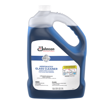 SC Johnson Professional® Ammoniated Glass Cleaner