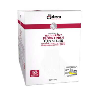 SC Johnson Professional® Ready-To-Use Multi-Surface Floor Finish Plus Sealer