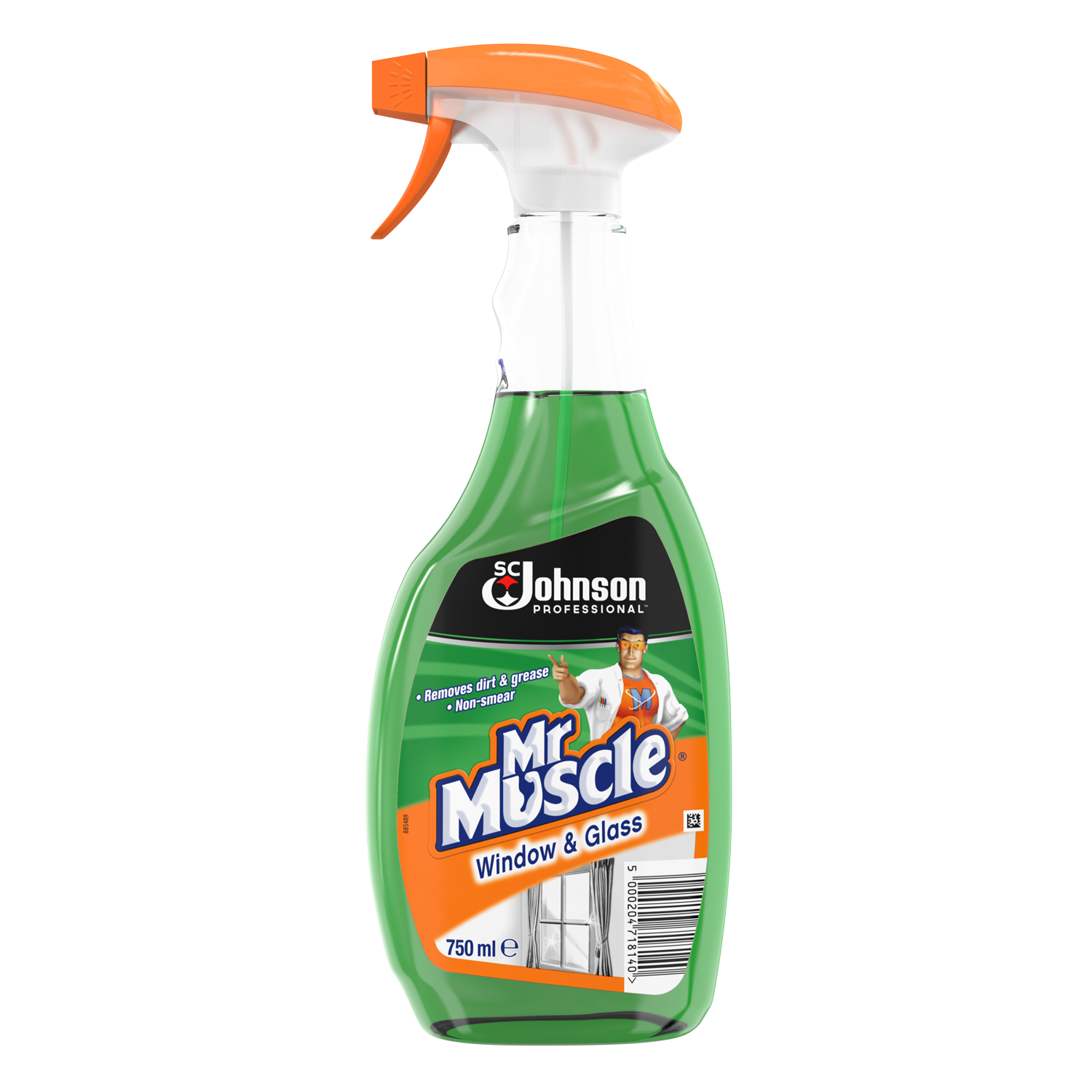 Mr Muscle Glass Cleaners Sc Johnson Professional