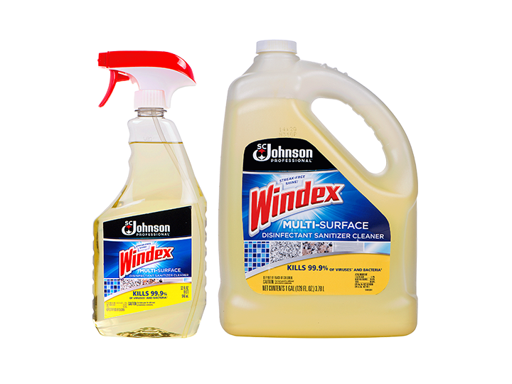 Windex® Multi-Surface Disinfectant Sanitizer Cleaner